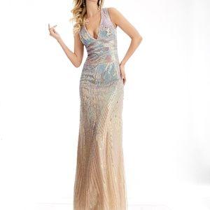 Jovani Dresses - JA 5985 HOMECOMING PROM MILITARY GALA